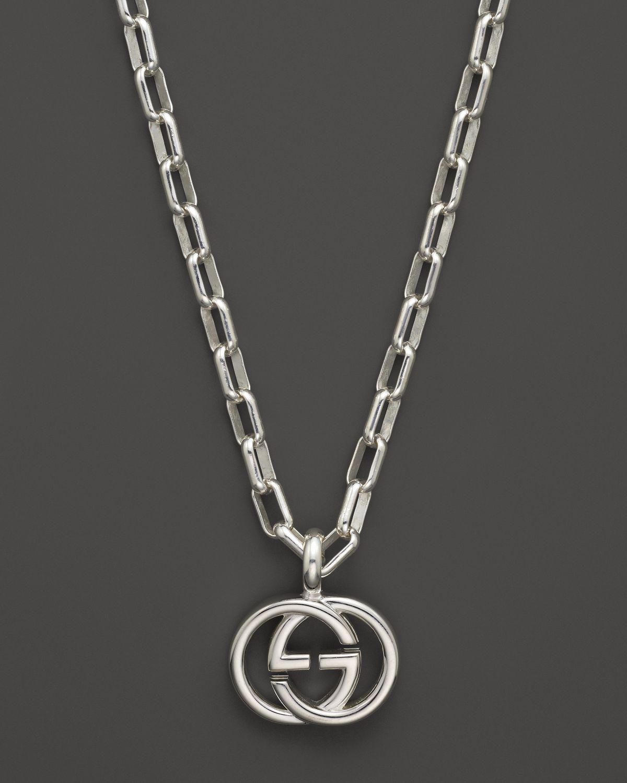 Gucci Double G pendant necklace - Metallic GQMPMYqx
