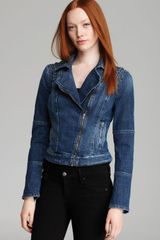 Guess Festival Capsule Jacket Exclusive Americana Moto Denim - Lyst