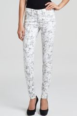 Guess Jeans Brittney Skinny Bloom Print - Lyst