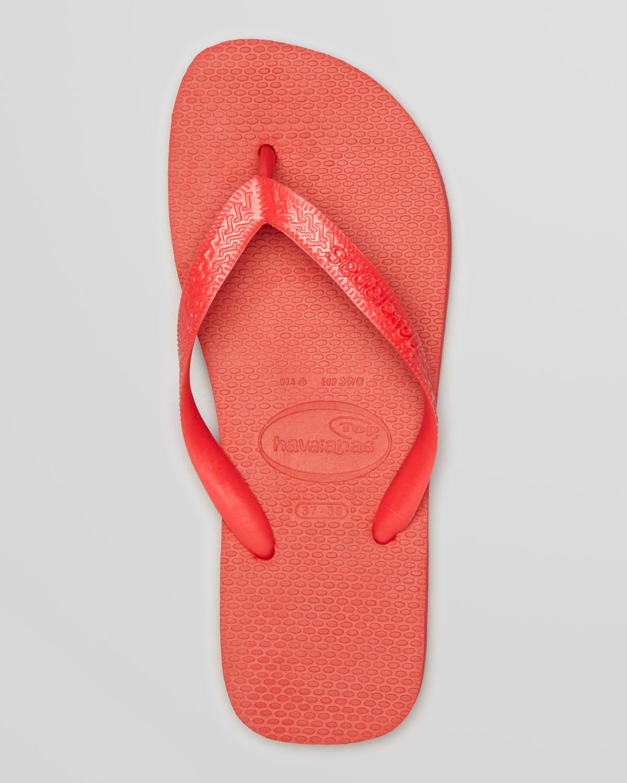 b14bf84113d991 Lyst - Havaianas Top Flip Flops in Red for Men