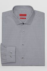 Hugo Boss Hugo Easton X Optical Check Dress Shirt Slim Fit - Lyst