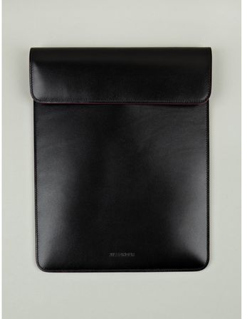 Jil Sander Leather Ipad Holder - Lyst