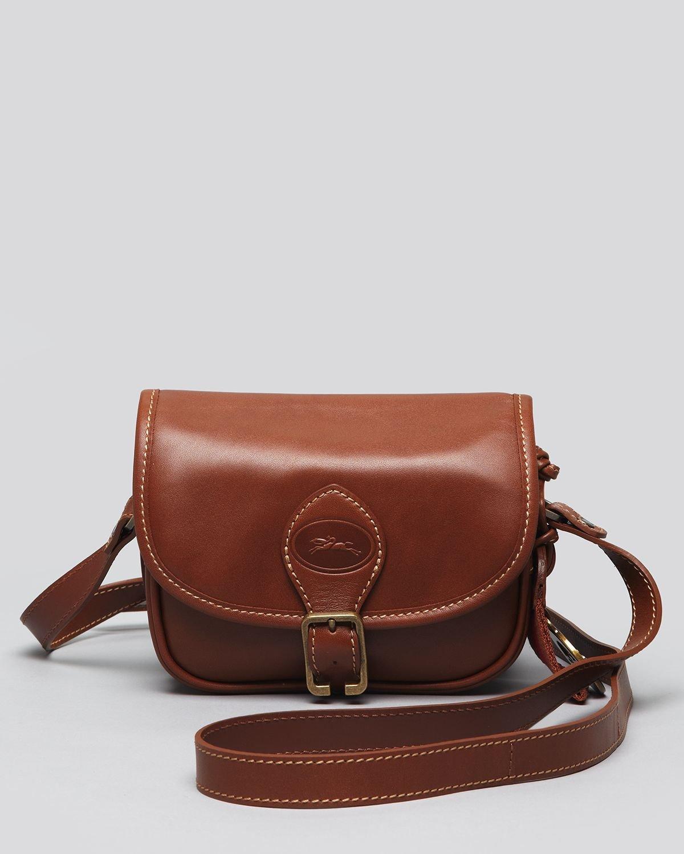 fedb5b8adad2 Lyst - Longchamp Crossbody Bag Sultan in Brown