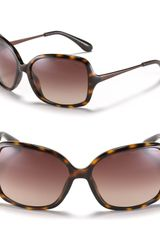 Marc By Marc Jacobs Medium Plastic Sunglasses with Metal Temples - Lyst
