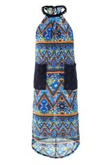 Matthew Williamson Escape Mayan Patchworkprint Beach Dress - Lyst