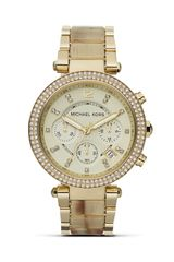 Michael Kors Faux Horn Parker Watch 39mm - Lyst