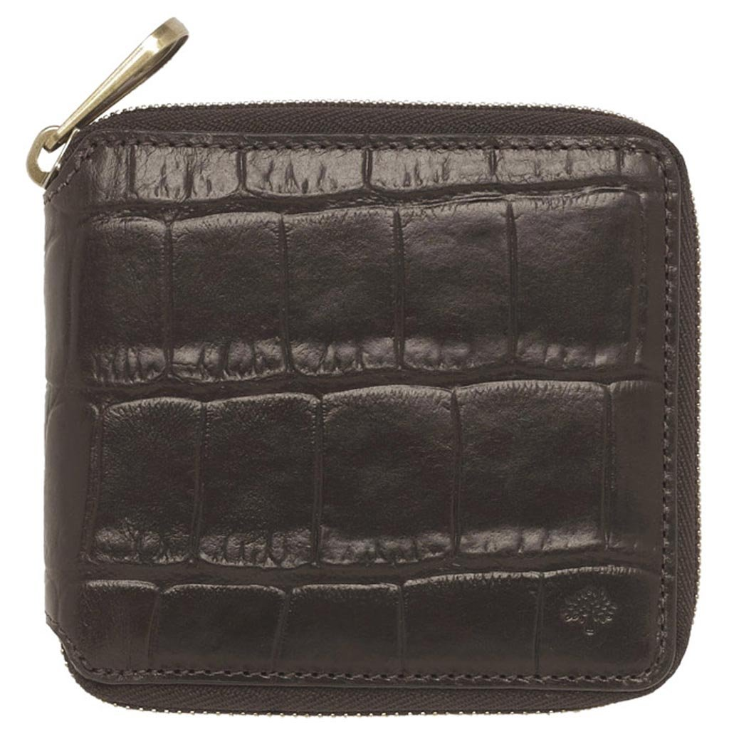 46c0a055600b ... norway mulberry mens zip around wallet in black lyst c2bd0 c665b ...