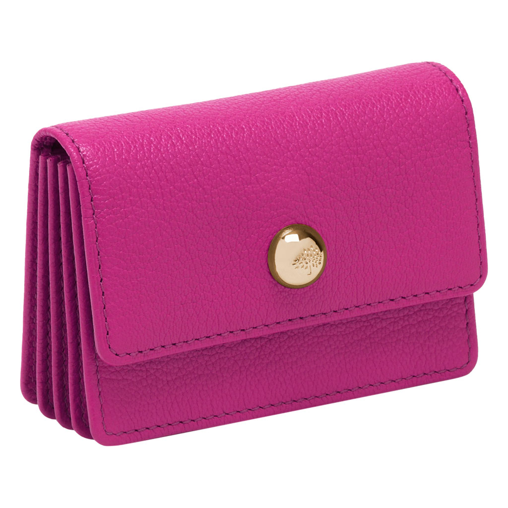 Lyst - Mulberry Dome Rivet Card Case in Pink