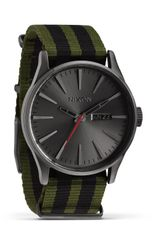 Nixon The Sentry Surplus Nylon Watch 42mm - Lyst
