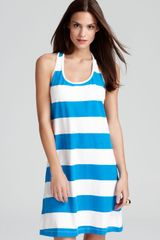 Tommy Bahama Big Stripe Short Tank Swimsuit Cover Up Dress - Lyst