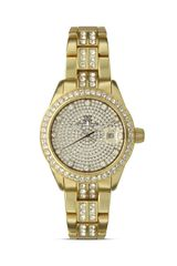 Toywatch Toy Watch Metallic Stones Gold Watch 35mm - Lyst