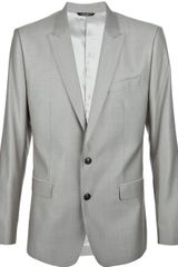 Dolce & Gabbana Martini Suit in Gray for Men (beige) - Lyst