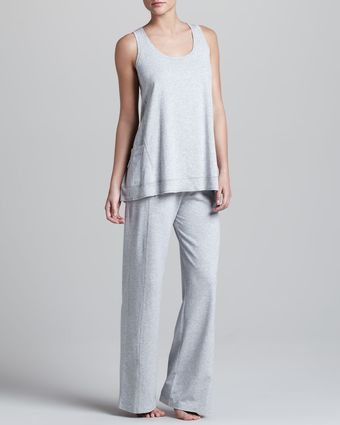 Donna Karan New York Pima Jersey Lounge Pants - Lyst