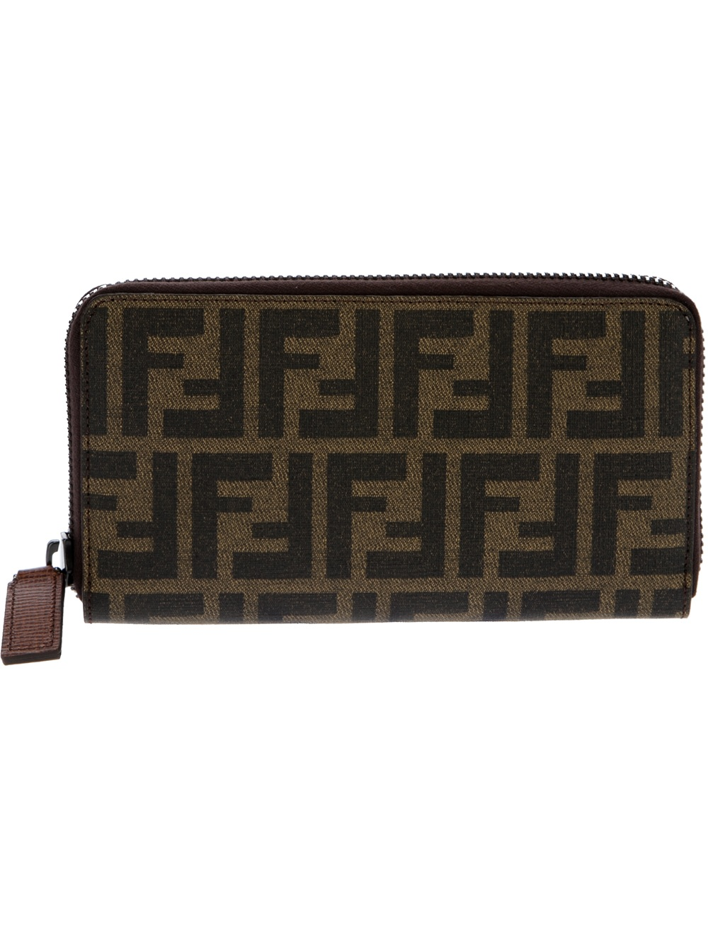 Fendi logo zip around wallet Pick A Best For Sale Buy Cheap Looking For Free Shipping Recommend fdQdo55