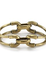 Giles & Brother Double Cortina Bracelet - Lyst