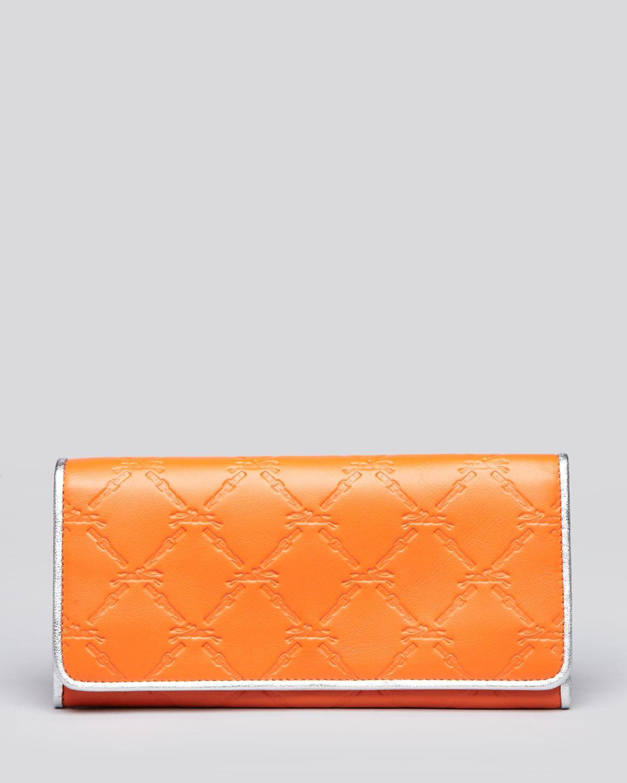 Longchamp Orange Wallet