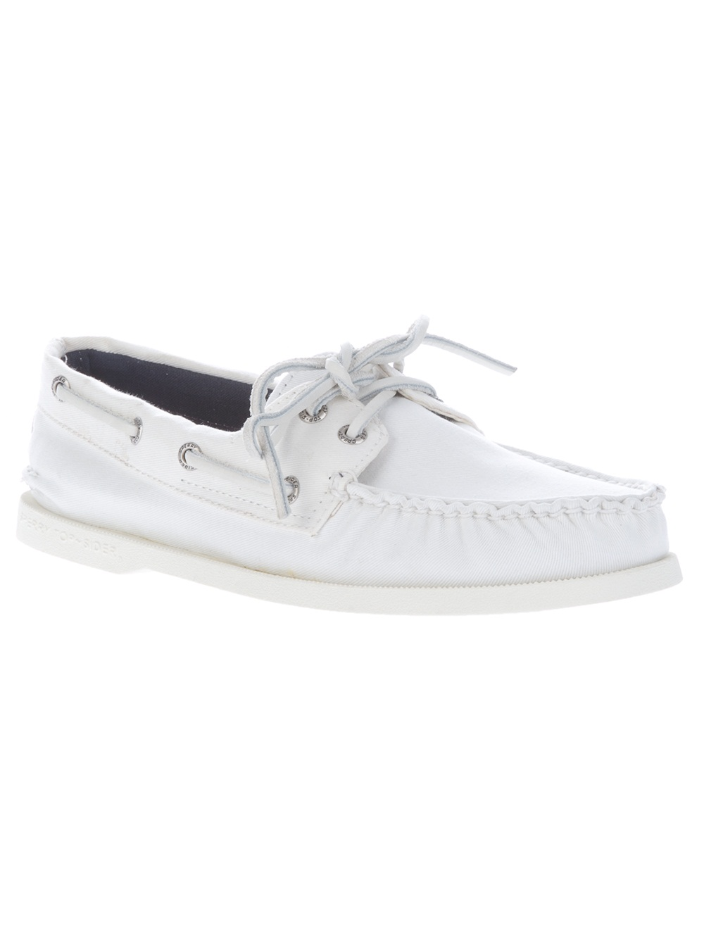 limited edition for sale discount footlocker finishline Sperry Topsider Sneaker Boat Shoes In White free shipping sneakernews best wholesale for sale Zd0lw3fd