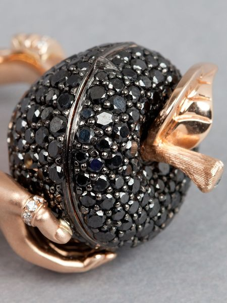 Stephen Webster Large Poison Apple Ring In Pink Rose Lyst