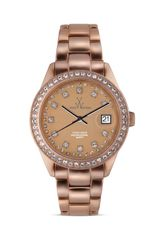 Toywatch Toy Watch Metallic Stones Rose Gold Watch 35mm - Lyst