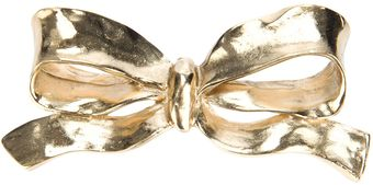 Yves Saint Laurent Vintage Bow Brooch - Lyst