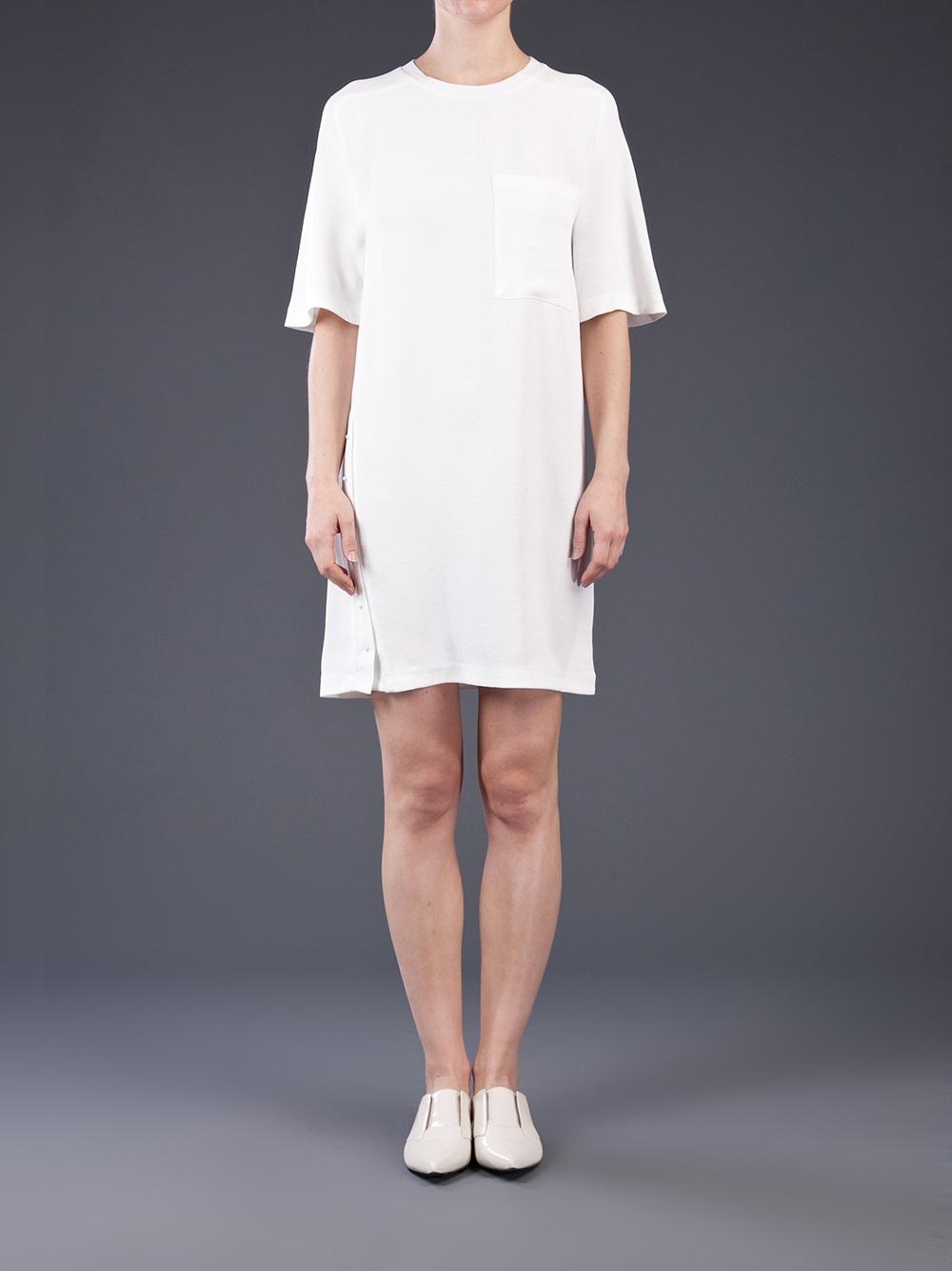Women S White Crew Neck T Shirt