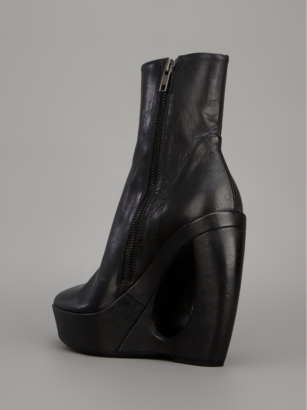 cheap sale prices Ann Demeulemeester Leather Platform Wedges sale best seller dfN0T