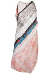 Cedric Charlier Wrap Dress - Lyst