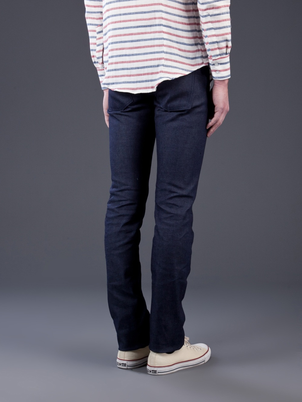 Lyst - Naked  Famous Skinny Guy Selvage Jean In Blue For Men-4998