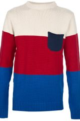 Oliver Spencer Striped Sweater - Lyst