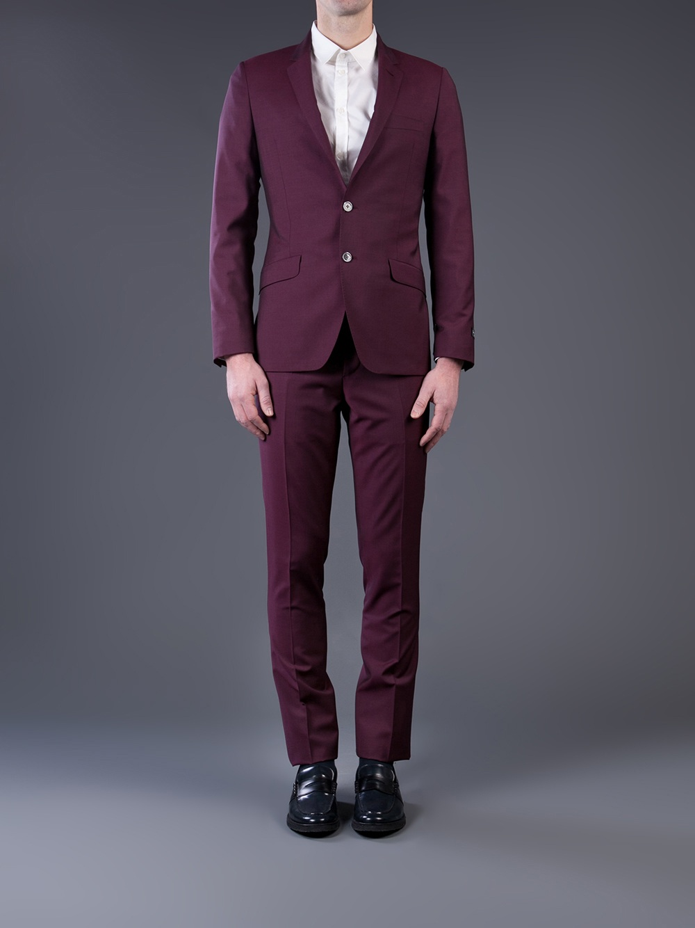 Paul Smith Travel Suit In Purple For Men Lyst
