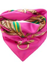 Ralph Lauren Blue Label Printed Scarf - Lyst