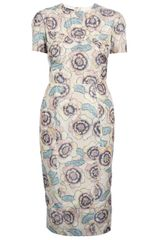 Rochas Floral Print Dress - Lyst