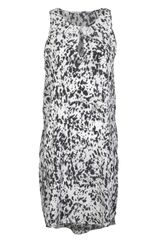3.1 Phillip Lim Animal Print Tank Dress - Lyst