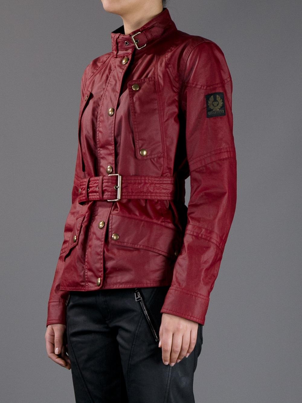Belstaff Red Jacket