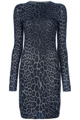 Christopher Kane Leopard Dress - Lyst
