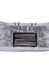 Fendi Front Fastening Shoulder Bag - Lyst