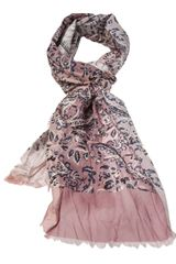 Golden Goose Deluxe Brand Strawberry Scarf - Lyst