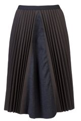 Hache Pleated Skirt - Lyst