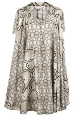 Hache Print Dress - Lyst