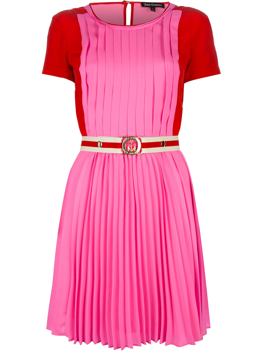 818cba0118 Lyst - Juicy Couture Colour Block Dress in Pink