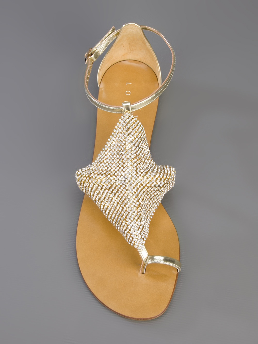 Professional  Buy Cheap View Lola Cruz Bead embellished sandals 7iKgQW2dLm