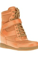 Marc By Marc Jacobs Wedge Trainer - Lyst