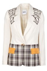 Moschino Cheap & Chic Embroidered Jacket - Lyst