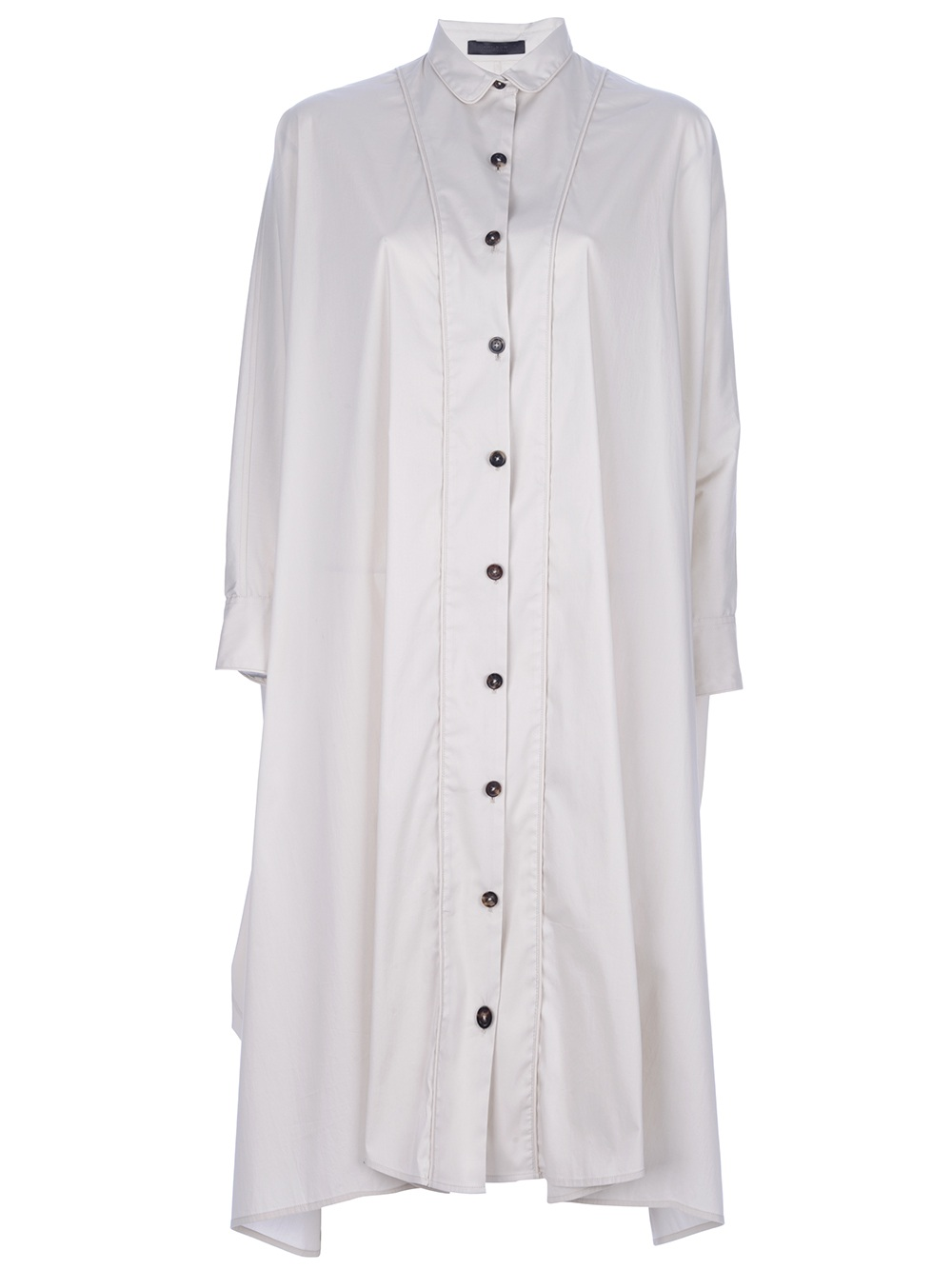Lyst The Row Oversized Shirt Dress In White