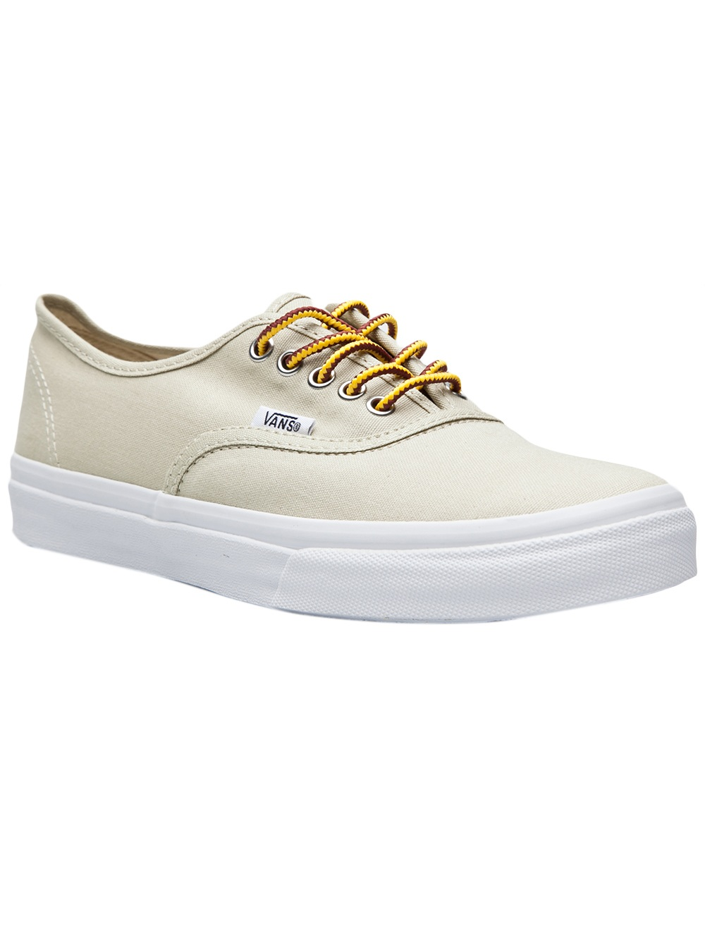 Lyst - Vans Authentic Slim Laceup in Natural 19196aeb56