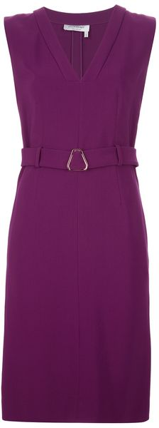 Yves Saint Laurent Sleeveless Dress - Lyst