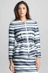 3.1 Phillip Lim Spacedye Striped Suit Jacket - Lyst