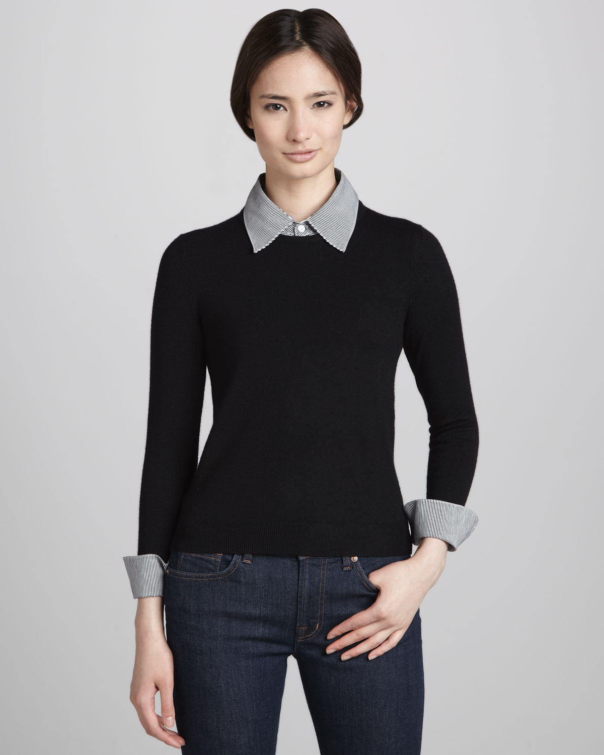 Lyst Alice Olivia Womens Alice Olivia Wiley Sweater With