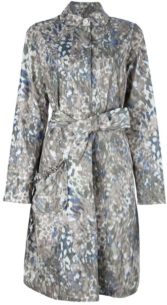 Avhash by Anne Valérie Hash Djam Printed Trench Coat - Lyst