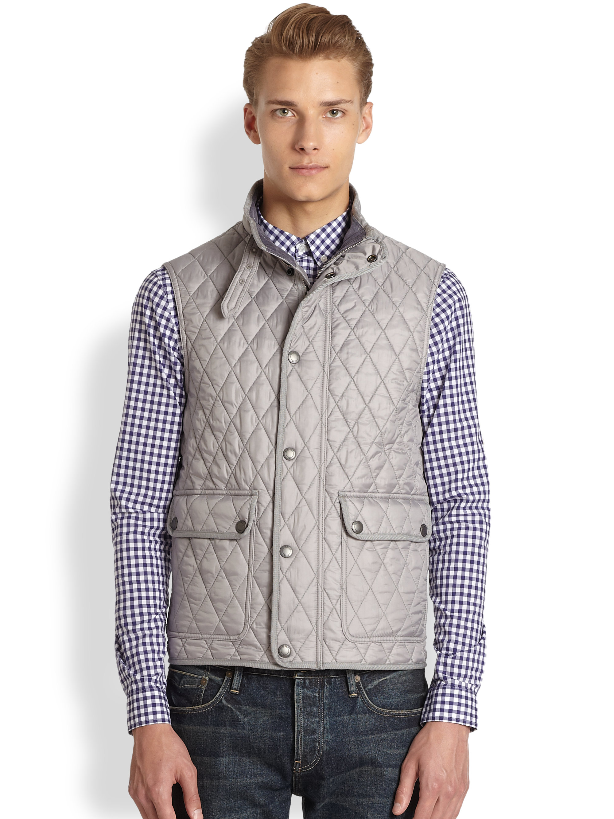 in gallery mens navy burberry quilt quilted jacket image diamond women